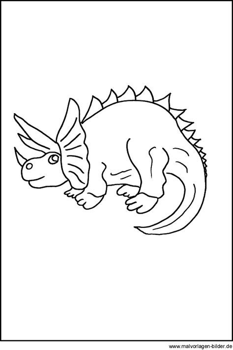 dinosaurier kostenlose malvorlage fuer kinder
