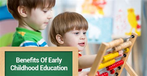what are the benefits of early childhood education 294   Benefits Of Early Childhood Education