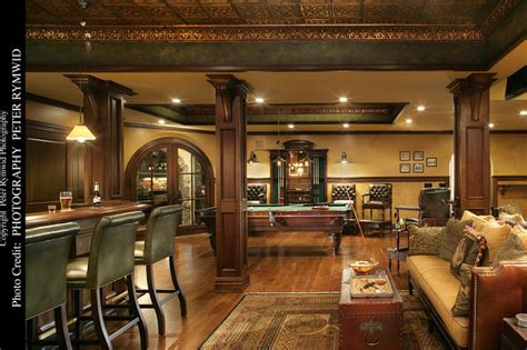 pub bar seating  pool table basement  york