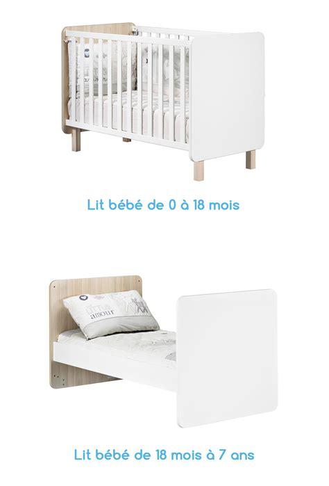 lit bebe pas cher occasion gallery of lit bb volutif nest de sauthon with chambre bb