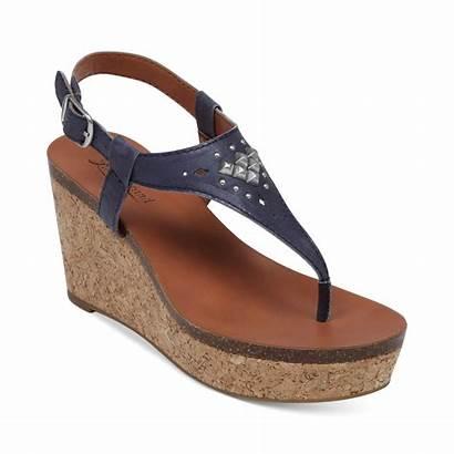 Sandals Wedge Thong Platform Womens Lucky Brand