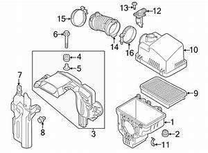 2017 Mazda Mass Air Flow Sensor  Liter  Engine  Wskyactiv