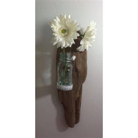 applique murale en bois flott 233 vase en verre https www