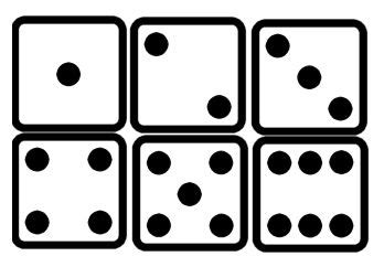 psp vectors dice cc  dot cards  clip art