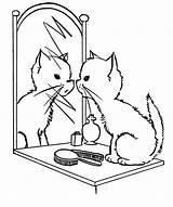 Mirror Coloring sketch template