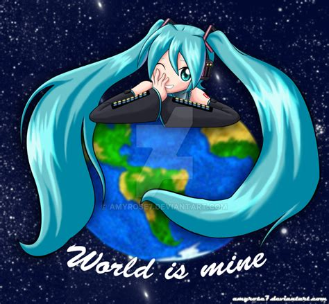 Hatsune Miku World Is Mine By Amyrose7 On Deviantart