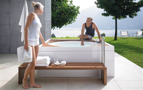 summer whirlpool luxury immerse yourself in a duravit pool pop up my bathroom