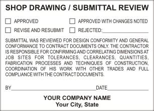 Amazing Submittal Stamp Template Frieze - Certificate Resume ...