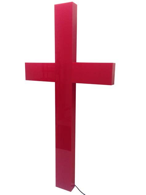 cross christian lighted church sign plexiglass led