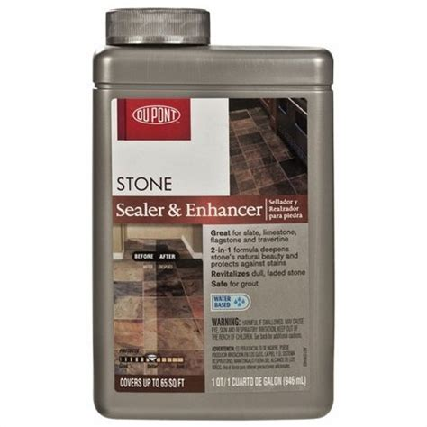 Dupont Tile Sealer Finish by Dupont Stonecare Sealer Enhancer Slate Limestone