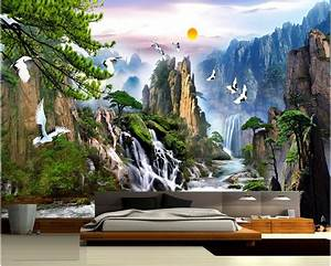 China landscape Photo Wallpaper Natural Scenery Mural ...