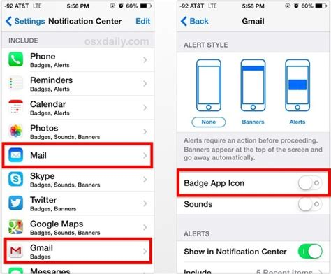 how to hide my phone number hide the unread email number on mail icons for iphone