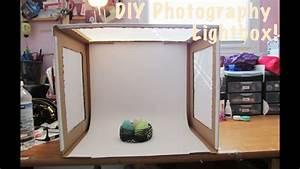 How To: DIY Photo Light Box - YouTube