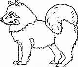 Coloring Dog Husky Eskimo Doberman Pet Printable Getcolorings sketch template