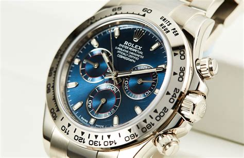 Rolex Daytona in White Gold with Blue Dial Ref. 116509 ...