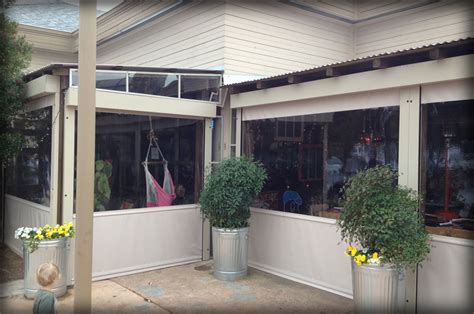 Patio Enclosure Panels by Restaurant Seasonal Vinyl Patio Enclosure Panels