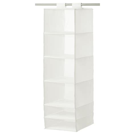 skubb storage with 6 compartments white 35x45x125 cm ikea