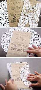 25 best ideas about doily invitations on pinterest With diy wedding invitations with doilies