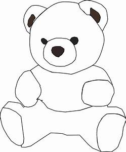 Free Teddy Bear Outline, Download Free Clip Art, Free Clip ...