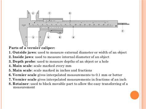 Diagram Of A Digital Caliper by 17036 Vernier Caliper And Micrometer