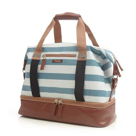 leather weekender bag with shoe compartment po co midway weekender bag with shoe compartment