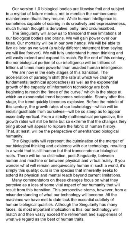 Ray Kurzweil | Tumblr