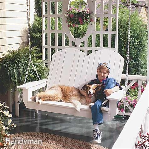 how to build a porch swing how to build a porch swing the family handyman