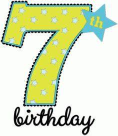 Number clipart 7th - Pencil and in color number clipart 7th