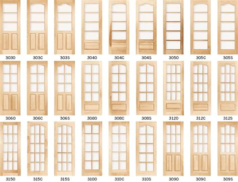 French Door; Wood French Interior Doors, Wood French