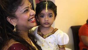 Sruthi Heeraquots Ear Piercing Ceremony YouTube