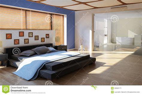 chambre 224 coucher de luxe moderne avec la salle de bains image stock image 30900171