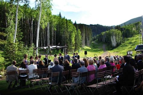 nature themed wedding  mountain lodge  deer valley