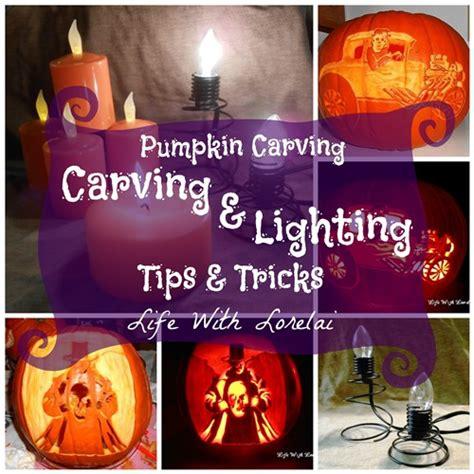 Lighting Tips by Carving Lighting Tips Tricks Pumpkin Carving