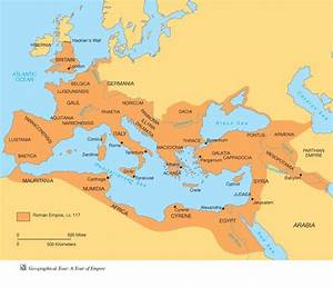 This Is A Map Of The Roman Geography During The Republican