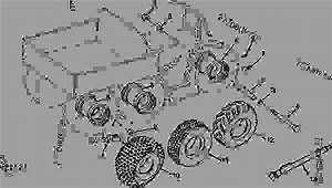 Wheels And Axles  D16  - Amt John Deere Amt 600 - Amt