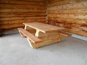 Rondin De Bois Table : tables maison bois rond ~ Teatrodelosmanantiales.com Idées de Décoration