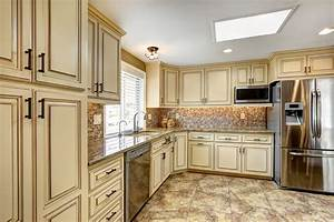 luxury kitchen design ideas custom cabinets part 3 With what kind of paint to use on kitchen cabinets for large wall art panels