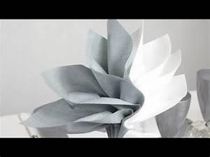 Pliage Serviette Youtube : pliage de serviette en forme de palmier youtube ~ Medecine-chirurgie-esthetiques.com Avis de Voitures