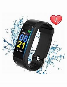 Swimmaxt Fitness Tracker Watch Smart Fitness Band With