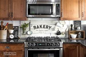 Shiplap styled BAKERY kitchen signFunky Junk Interiors