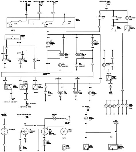 85 Cj7 Wiring Diagram by 1977 Cj7 Hazards And Front Parking Lights Not Working