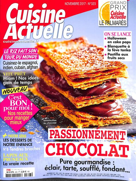 abonnement cuisine actuelle cuisine actuelle n 323 abonnement cuisine actuelle