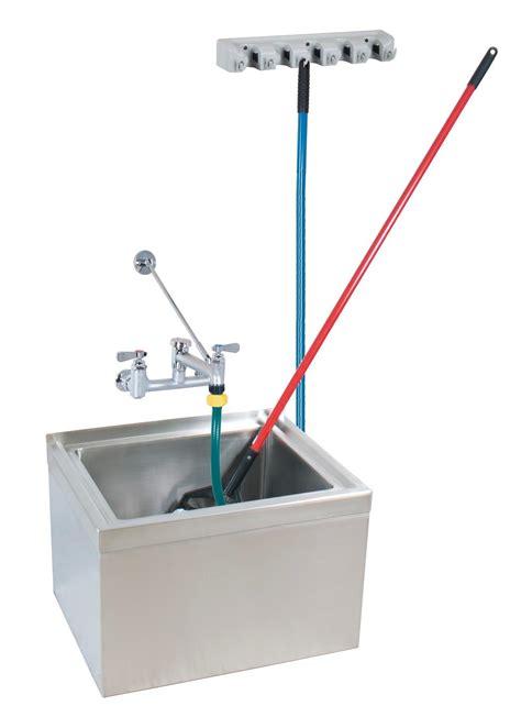 mop sink faucet specs bk resources bkms 1620 6 kit 16 quot x20 quot x6 quot floor mount