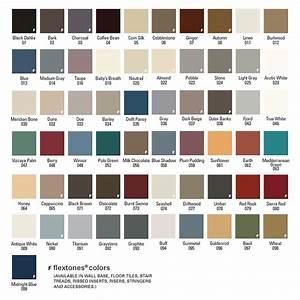 Flexco Rubber Flooring Vinyl Flooring Color Refills