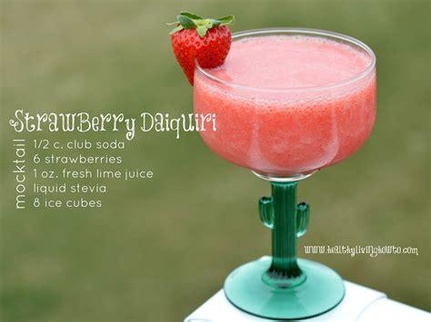 Strawberry Daiquiri Mocktail Recipe Daiquiri