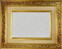 "gold picture frames PICTURE FRAME WOOD GOLD LINEN FANCY SWIRL ART PHOTO 2.25"" WIDE VARIETY OF SIZES! 