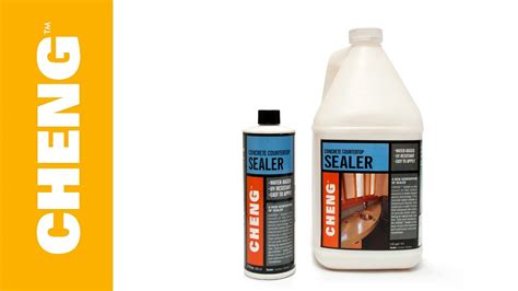 sealer for concrete countertops how to seal concrete countertops with cheng concrete