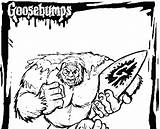 Coloring Snowman Abominable Goosebumps Rudolph Yeti Printable Movie Colouring Dinosaur sketch template