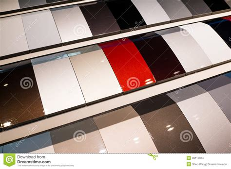 car paint samples stock images image