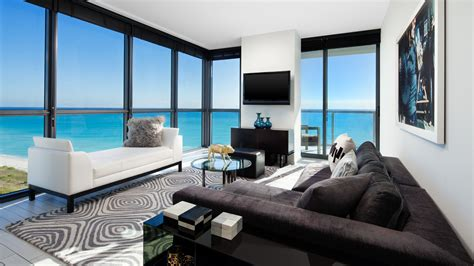 The Living Room At The W by W South Beach Look No Further For Your Miami Getaway